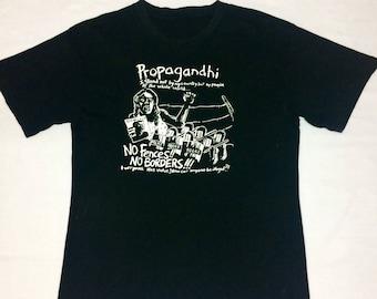 PROPAGHANDI band shirt punk rock hardcore punk old skool punk