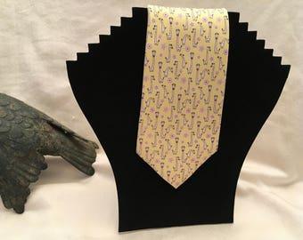 Reincour Kyongil Yellow Silk Necktie