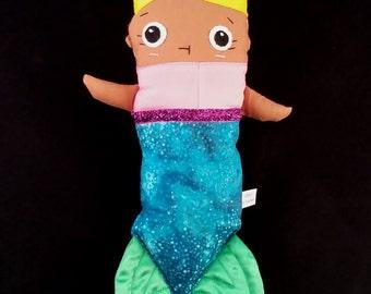 Blonde mermaid doll SALE