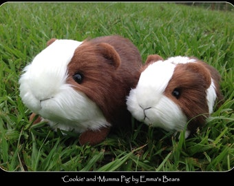 REALISTIC Guinea Pig PATTERN by Emmas Bears - includes both adult and baby sizes