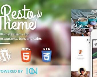 Cafe Theme – WordPress Template for Restaurants