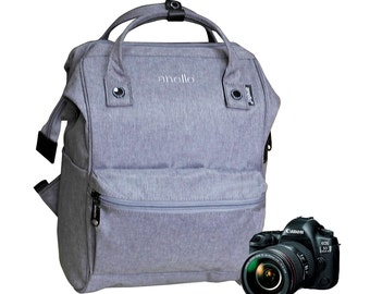 Camera Backpack, Dsrl Backpack, Camera Bag, Dsrl Camera Bag, Camera Bag, Camera Backpack, Dsrl Bag, Gray Camera Backpack