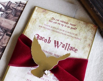 Harry Potter Theme Invitations (35 count)