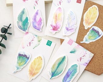 Feathers - Sticky Note - Two Pack