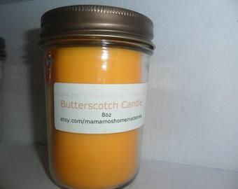 Butterscotch Soy Candle 8oz