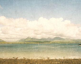 Beach Decor, St. Patrick's Day Gift,  Seascape Fine Art Print, Ocean Photography, Ireland Photo, Beach House Gift