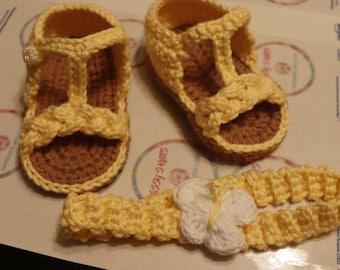Baby Sandals Crochet