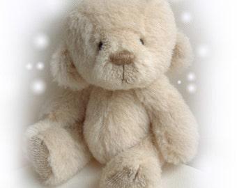 DUMPLING artist bear epattern by Jenny Lee of jennylovesbenny boutique bears PDF