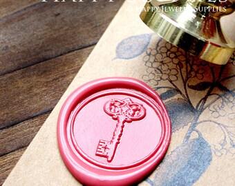 Buy 1 Get 1 Free - Wax Seal Stamp - 1pcs Key Metal Stamp / Wedding Wax Seal Stamp / Sealing Wax Stamp (WS197)