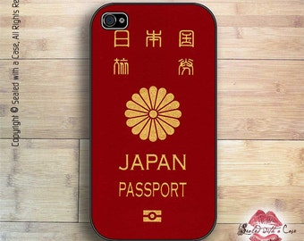 Japanese Passport - iPhone 4/4S 5/5S/5C/6/6+ and now iPhone 7 cases!! And Samsung Galaxy S3/S4/S5/S6/S7