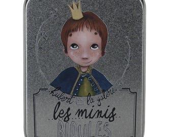 Stuff, stuff and Doodads carambar minis. Illustrated tin box.