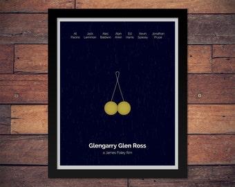 Glengarry Glen Ross - Minimal Movie Poster