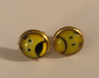 Glass Emoji Earrings
