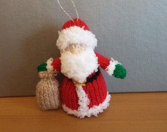 Christmas Tree Decoration - Father Christmas