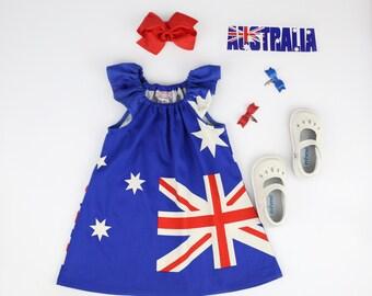 Australia Day flag dress