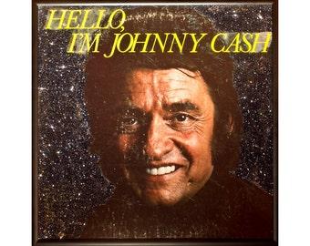 Glittered Johnny Cash Album