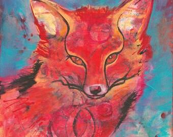 Fox • Giclée Print