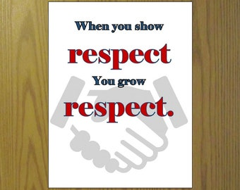 Business quote printable Set of 3, Value priced Leadership sayings print Respect, Help/praise How you say it, 2.33 each! Teamwork, Vertical,