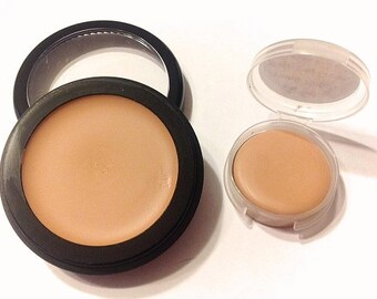 CREAMY NATURAL Perfecting Cream Natural Mineral Foundation - Natural Creamy Foundation - Concealer Makeup - Gluten Free