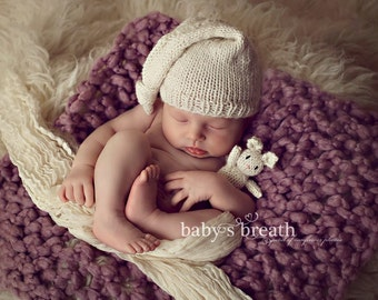 Cream Cheesecloth Baby Wrap Cheese Cloth Newborn Photography Prop