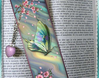 """Laminated bookmarks """"Butterfly"""""""
