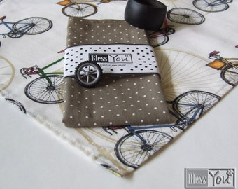 Biker Tablecloth, Cotton Tablecloth, Table-cloth, Cover, Perfect gift