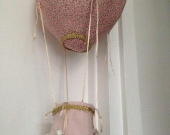 Mobile hanging balloon nursery child or baby