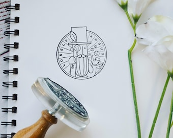 Custom Logo Stamp, custom stamp, logo stamp, stamp, stamper, logo, rubber Stamp, traditional stamp, stationery, personalized stamp