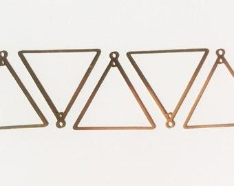 SALE!! Triangle charm