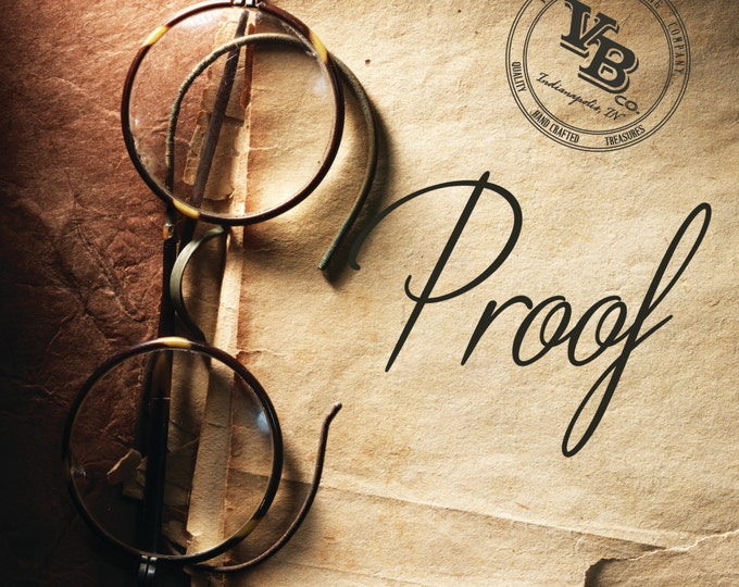 Request A Proof- digital images