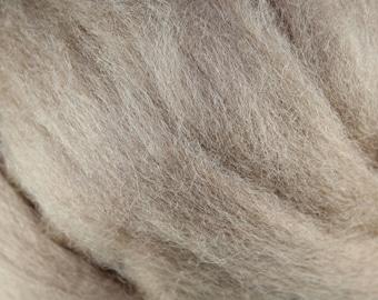 Wool Roving - 1oz - Tan