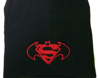 Brand New Batman v Superman: Dawn of Justice beanie hat one size fit most