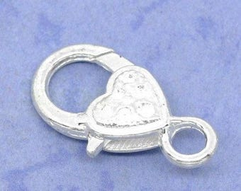 Clasp 26mm heart shaped clasp large model