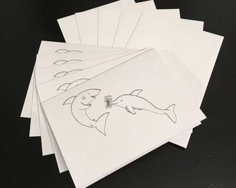 Sharky valentine-5 pack