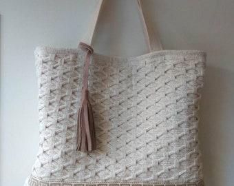 Large kilim bag. Kourelou tote. Boho chic beach bag. Pom pom bag. Rug bag. Gift for her. Big summer shoulder bag. Greek bag.