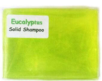 Handmade Luxury glycerin Eucaltpyus solid Shampoo bar suitable for vegans