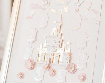 Fairytale Castle Table Plan