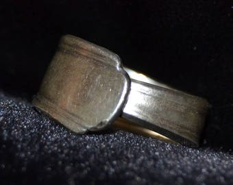 Modern Straight Spoon Ring