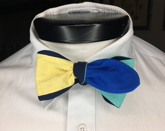 The Luxo - Our Pixar Inspired bowtie in Finding Dory colors