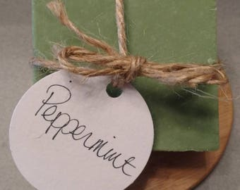 Peppermint - Handmade Soap - Natural Soap - Essential Oil Soap - Cold Process Soap