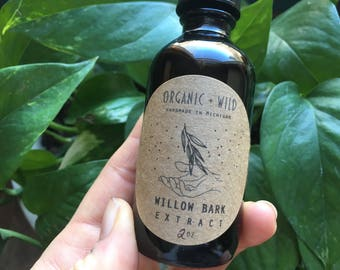 Willow Bark Extract / Tincture / Organic / Wildcrafted
