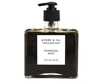 Charcoal Mint Hand & Body Wash