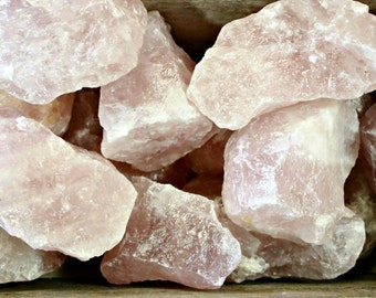 "Large Rose Quartz Chunk 2 1/2"" Plus R71"