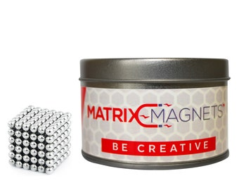 Matrix-Magnets™ Magnetic Fidget Toy, Build-able Sculpture Toy, Stress and Anxiety relief.