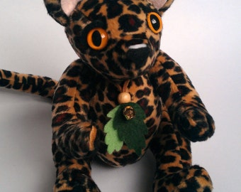 Tamu the Leopard Plush Doll
