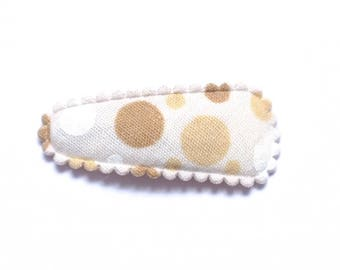 Baby Hair Clip in Fabric - Non-Slip Grib