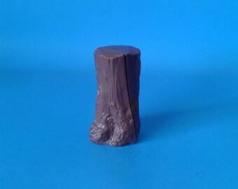 "Big Jim Vintage "" Tree Stump "" 1970's Mattel"