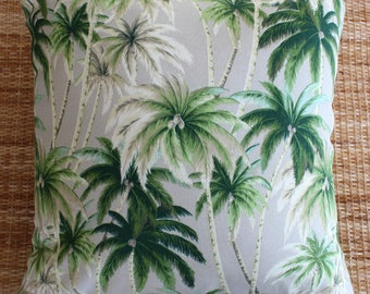 palm tree tropical outdoor cushion cover