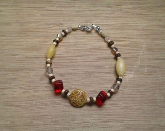 Beaded bracelet - multi
