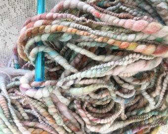 handspun art yarn merino soft autumn shades